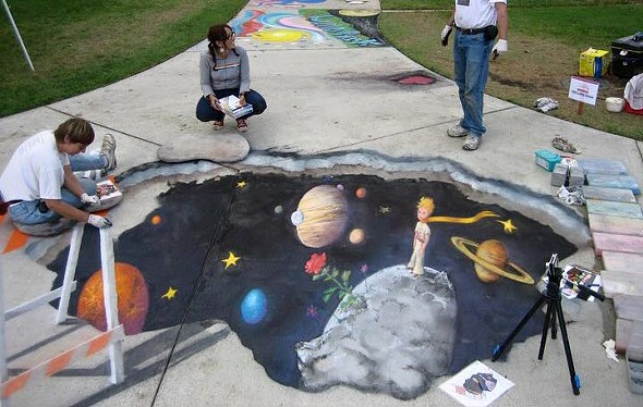 COURTESY OF HUDSON VALLEY CHALK FESTIVAL