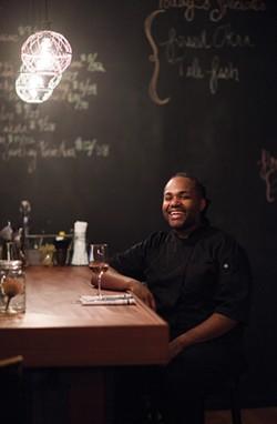 Brandon Walker at Essie's in Poughkeepsie. - CHRISTINE ASHBURN