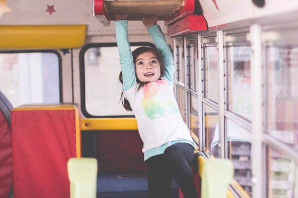 A child enjoys the tumble bus - COURTESY OF THE BEEKMAN FIRE COMPANY AUXILIARY