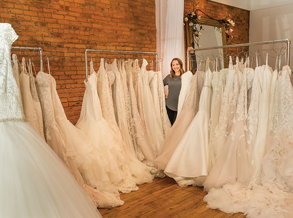 Emily Glass at Blush Bridal - FRANCO VOGT