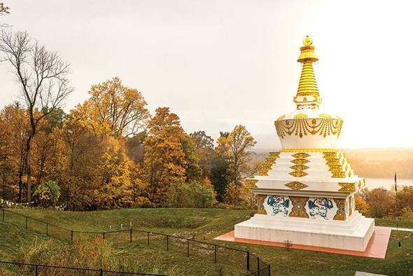 Kagyu Thubten Choling Monastery and Retreat Center in Wappingers Falls has been visited twice by the Dalai Lama - FRANCO VOGT