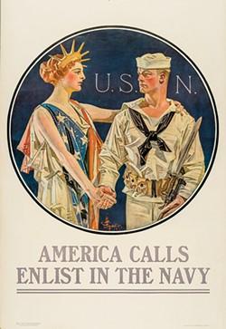 America Calls, J.C. Leyendecker (1918)