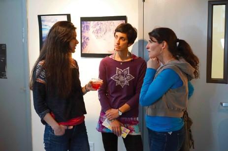 Leigha Butler and Jacqui Nash of the Yoga House with Chronogram Kids & Family Editor Hillary Harvey - JOHN GARAY