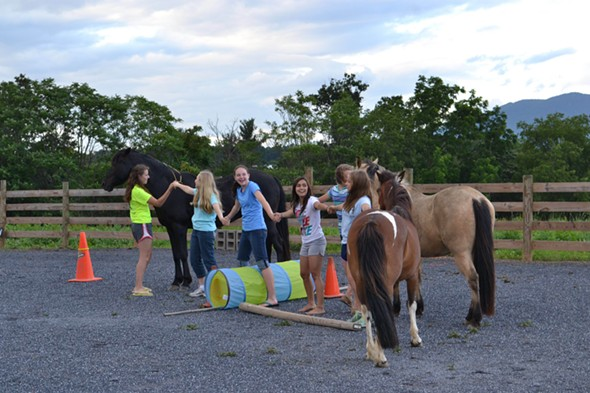 Girls Power Group at Hudson Valley HorsePlay