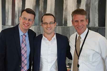 David Brand, Taylor Palmer, and Pat Donovan - JOHN GARAY