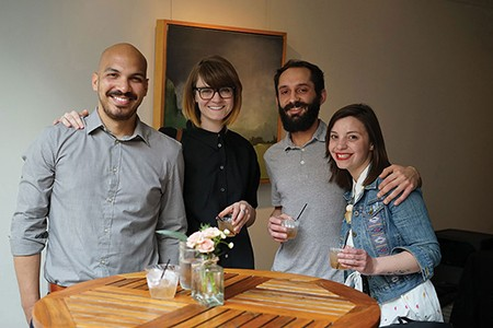Luis Barreto Carrillo, Amber Moelter, Daniel Frankhuizen, and Phylicia Chartier - JOHN GARAY