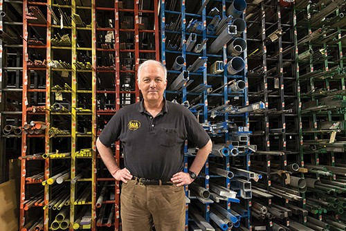 Frank Fatalyn is the second-generation owner of FALA Technologies in Kingston, developing and making high-precision components for clients like Tesla and Sikorsky. - ROY GUMPEL