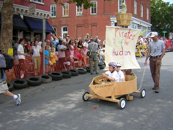 COURTESY OF THE KINGSTON ARTIST SOAPBOX DERBY