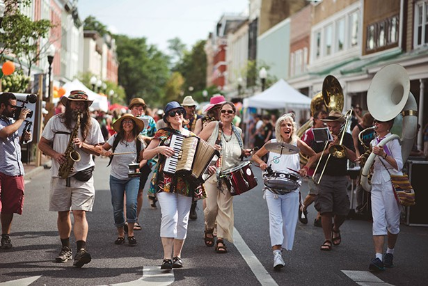 Rosendale Improvement Society Brass Band.