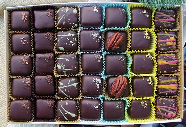 Bulk Caramel Chocolate Box by Lagusta's Luscious and Lagusta's Commissary in New Paltz.