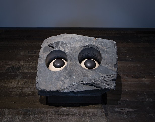 Nature Study (Velvet Eyes) by Louise Bourgeois