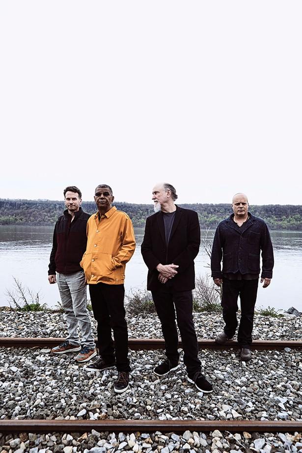 The members of Hudson: Larry Grenadier, Jack DeJohnette, John Scofield, and John Medeski