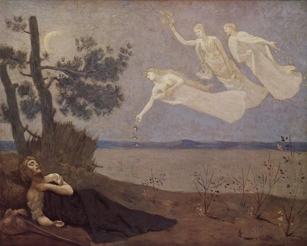 The Dream, Pierre-Cécile Puvis de Chavannes, 1883
