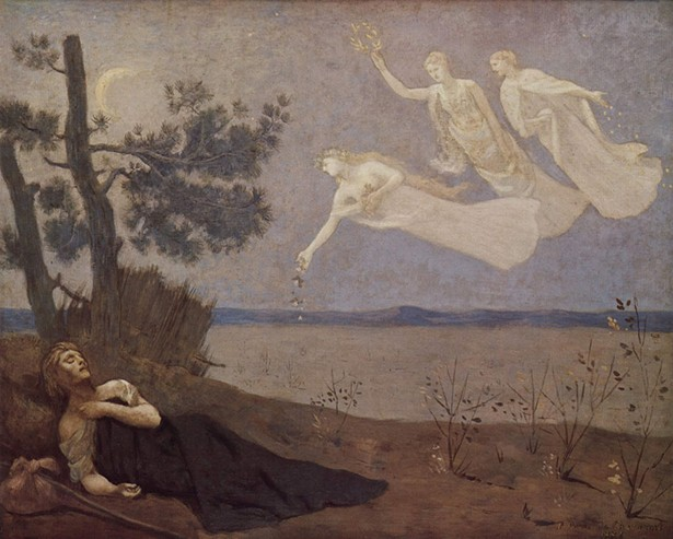 The Dream, Pierre-Cécile Puvis de Chavannes, 1883