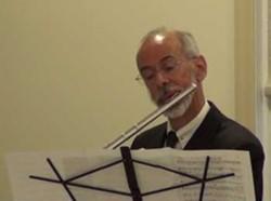 Flutist Ken Korn