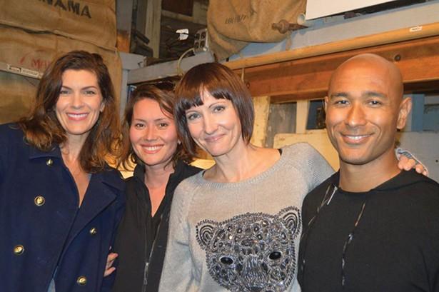 Abby Berusch, Aselya Waltzer, Alison Chawla, and Navin Chawla (Roy Gumpel).