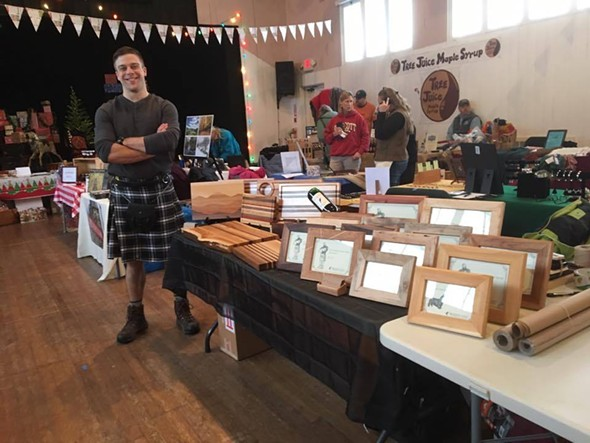 the Holiday Arts Market at Roxbury Arts Group