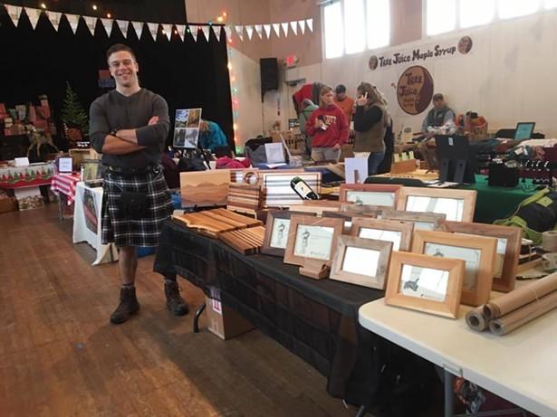 the Holiday Arts Market at Roxbury Arts Group