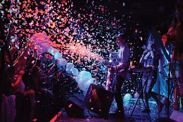 Rubblebucket plays BSP Kingston on New Year's Eve.