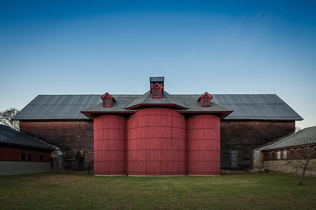 The Environmental Cooperative at the Vassar Barns. - RICHARD SMITH