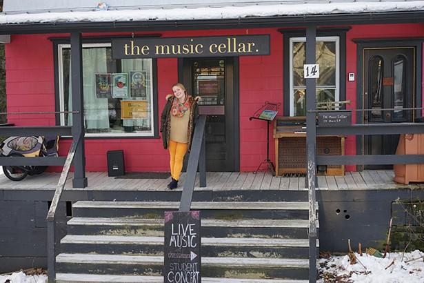 Samantha Bea at The Music Cellar in Millerton. - JOHN GARAY