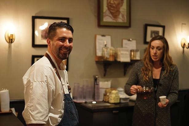 Wade McEnroe, executive chef of McEnroe Organic Farm. - JOHN GARAY