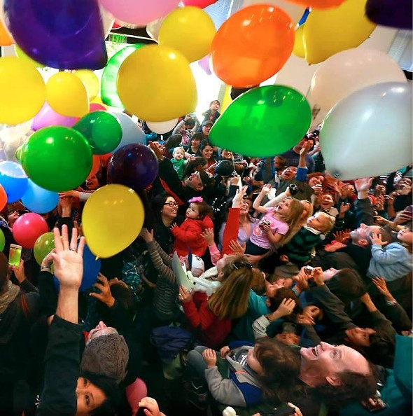 New Year's at Noon at the Mid-Hudson Children's Museum