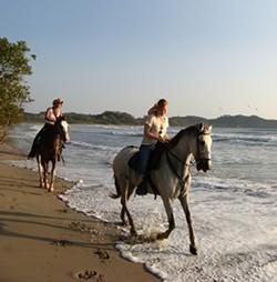 Horse back riders in Costa Rica - OMEGA INSTITUTE