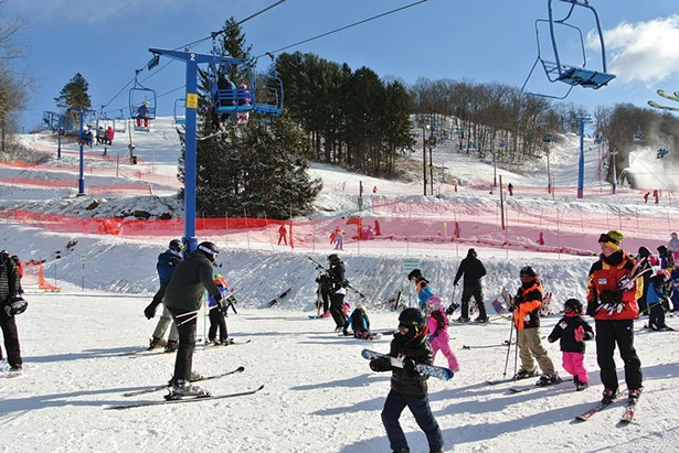Thunder Ridge Ski Area in Patterson - JOHN GARAY