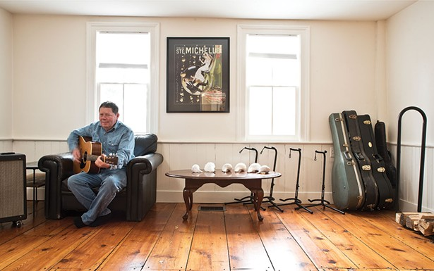 Thompson began life as a musician and eventually became a geologist studying the effects of climate change on the oceans. The home didn't need many improvements when the couple movedin three yearsago. However, they added a geothermal heating system to help warm and cool the house. - DEBORAH DEGRAFFENREID
