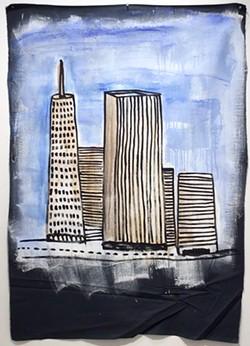 Metropolis Series No. 1, 2017   Abel Ramirez