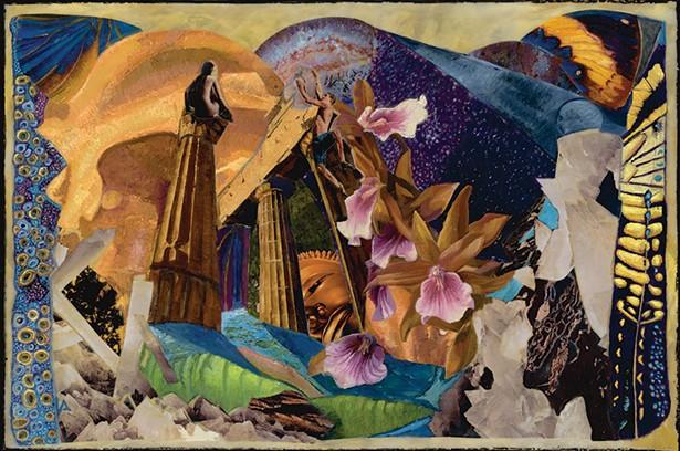Lucinda Abra, Communion, mixed media