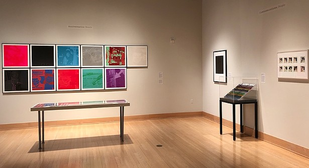 © 2018 The Andy Warhol Foundation for the Visual Arts, Inc. / Licensed by Artists Rights Society (ARS), New York - Photograph courtesy of SUNY New Paltz
