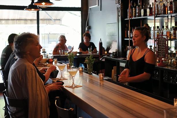 Emma Gruden, bartender, at Santa Fe in Tivoli. - JOHN GARAY