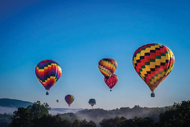 The Hudson Hot-Air Balloon Festival lands in Rhinebeck for the first time this year on July 6-8.
