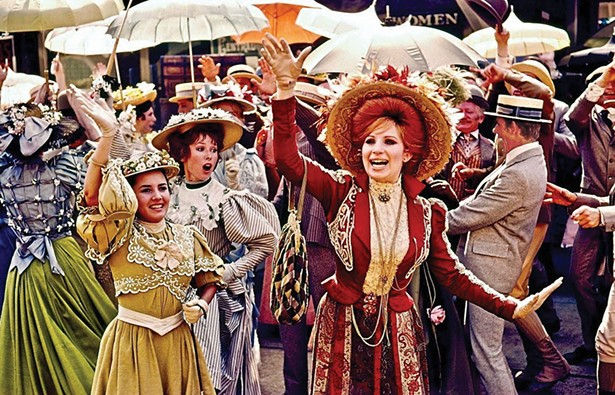 Barbra Streisand on the set of Hello, Dolly! at Garrison Landing in 1968. This summer, the Hello Again, Dolly! festival celebrates the film's 50th anniversary.