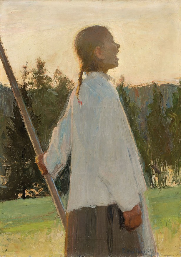 Echo | ellen thesleff | oil on canvas | 1891