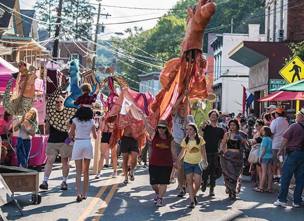 Parade at Rosendale Street Festival - NEAL SEGAL