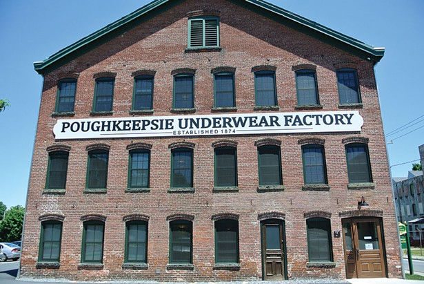 The exterior of the recently renovated Underwear Factory. - JOHN GARAY