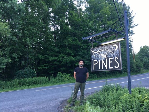 The Pines proprietor Jeremy Bernstein, aka Burnell Pines. - MARIE DOYON