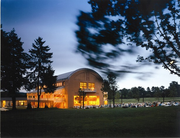 Ozawa Hall - STEVE ROSENTHAL