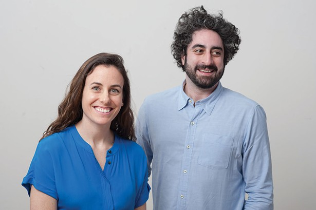 Kathy Hannun and James Quazi