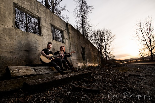 Country blues duo Whiskey Crossing performs at the Heroes for a Cure Festival on October 5.