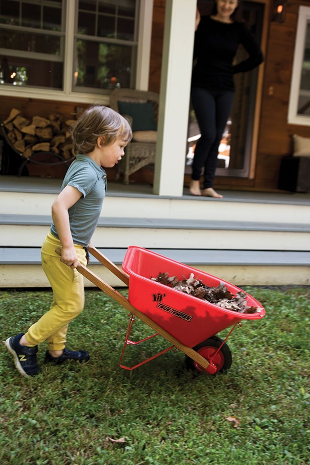 Neighbor Tim Vaughn also stepped in to help with lots of the heavy lifting, mentoring Bollman throughout the process and introducing the family to much of the neighborhood. - DEBORAH DEGRAFFENREID