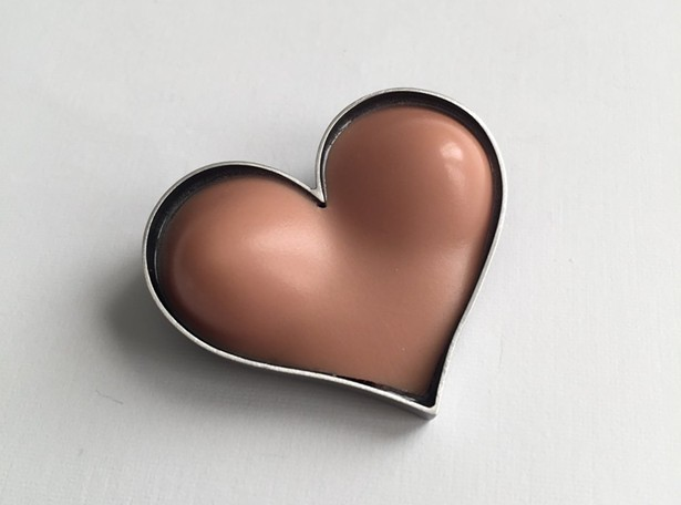 Bust Heart Pin by Margaux Lange