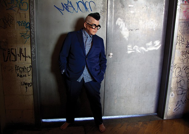 Lea DeLaria swings in the holidays at the Fisher Center on December 8. - TINA TURNBOW