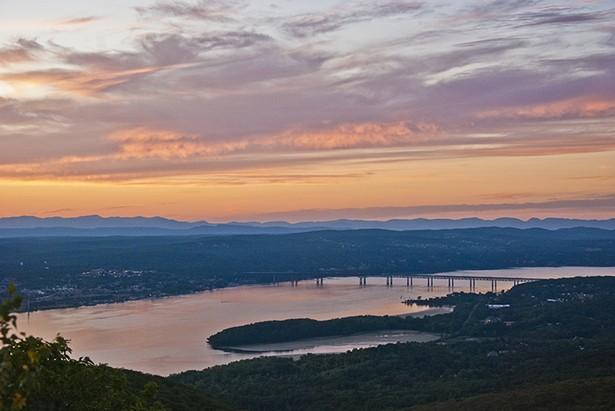 Sunset View from Beacon Casino. Photo Eric Ortner