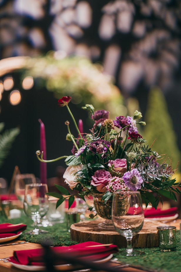 Floral design by The Rosery Flower Shop - JOSHUA BROWN PHOTOGRAPHY, COURTESY OF LUMBERYARD