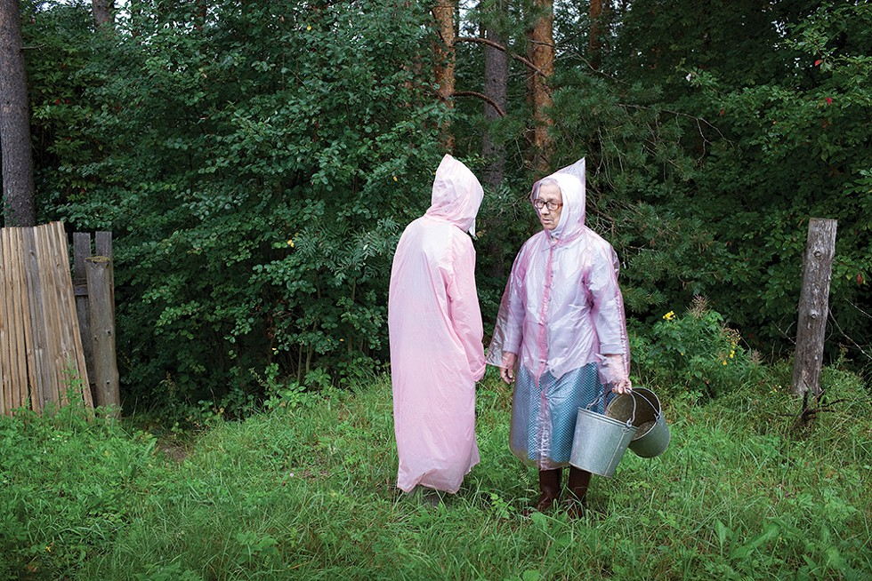 From the Aunties project, Alekhovshchina, Russia, 2008-2014