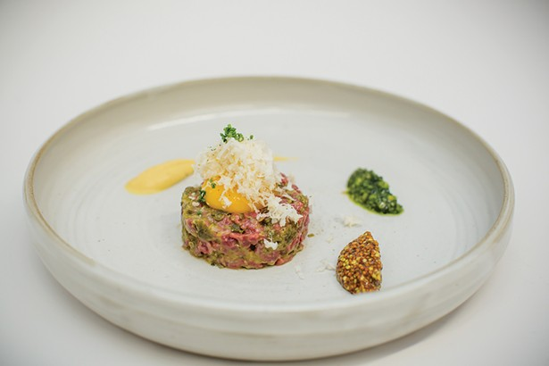 Beef tartare - PHOTOS BY MARY KELLY